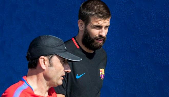 Gerard Piqué y el polémico mensaje a la directiva de Barcelona tras salida de Valverde