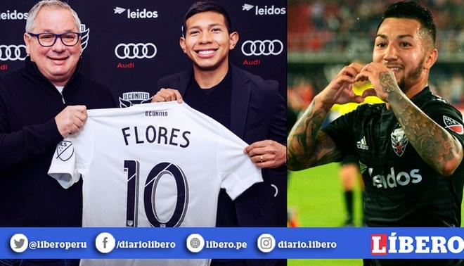 Edison Flores heredó la '10' de Luciano Acosta, quien se marchó a la Liga MX. | Foto: Composición