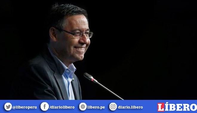 """Josep María Bartomeu: """"Xavi será un día entrenador del Barcelona"""". Foto: EFE"""