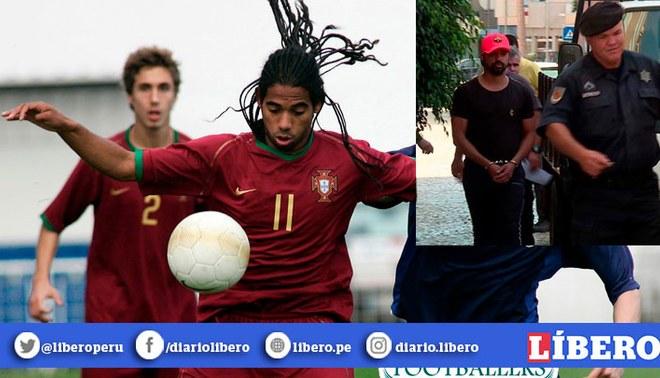Fabio Paim, considerado mejor que Cristiano Ronaldo en el pasado, en prisión por tráfico de drogas. | Foto: Composición