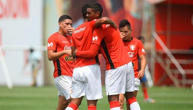 Selección Peruana Sub-23 goleó 4-0 a SAFAP y bosqueja once para Preolímpico 2020