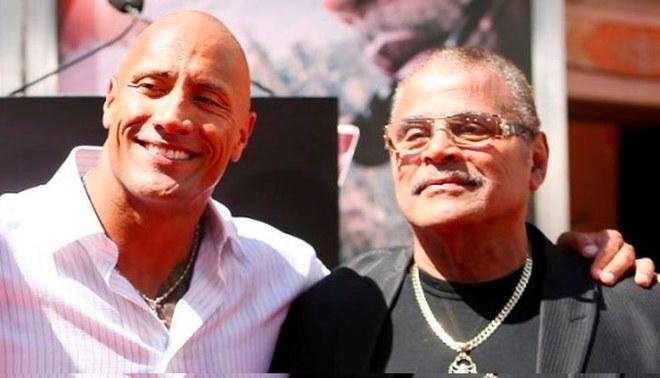 Falleció el padre de The Rock   FOTO: Difusión