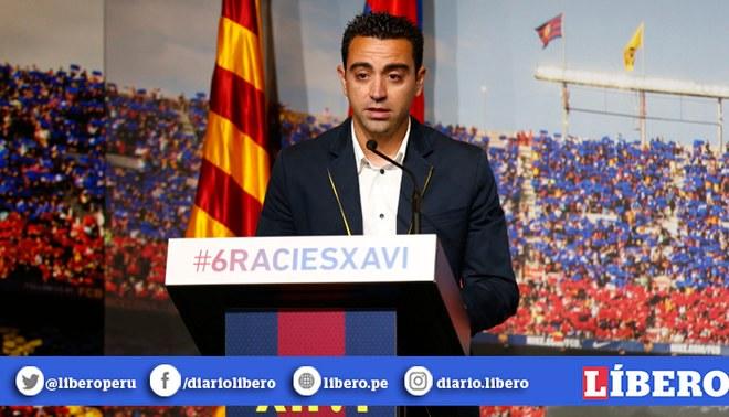 Xavi Hernández Barcelona Quique Setién | FOTO: GLR