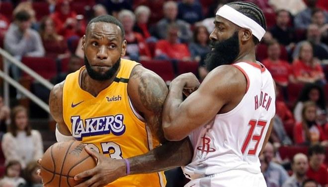 Lakers venció a los Houston Rockets por 124-115 en vibrante partido por la Conferencia Oeste de la NBA