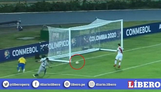 Perú vs Brasil Sub23: Paulinho anota para la Canarinha tras error de Solís [VIDEO]