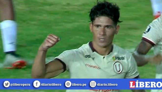 Dos Santos marcó el primer gol oficial de los 'cremas' en el año. Créditos: Captura de TV