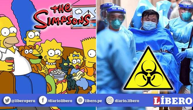 Los Simpson lo hicieron de nuevo   ¡Predijeron el coronavirus en China!