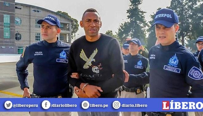 Jhon Viáfara: campeón de la Copa Libertadores fue extraditado por caso de narcotráfico | Foto: EFE
