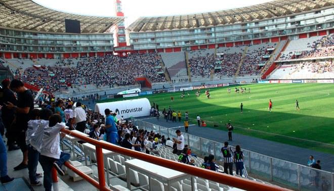 El Cristal vs. Barcelona podría cancelarse por falta de certificado en el Estadio Nacional | FOTO: GLR