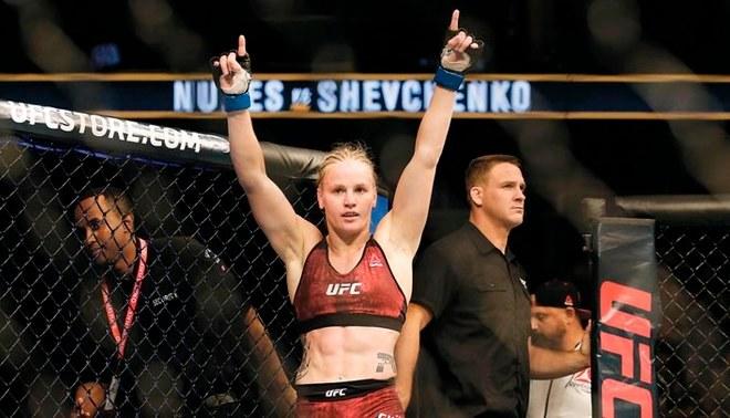 Valentina Shevchenko   FOTO: UFC