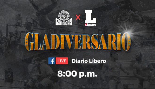 El primer aniversario de Gladiadores será transmitido por Diario Líbero. | Foto: Gladiadores