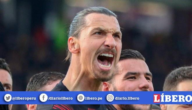 Zlatan Ibrahimović golpea a su representante Mino Raiola en zona mixta | Foto: EFE