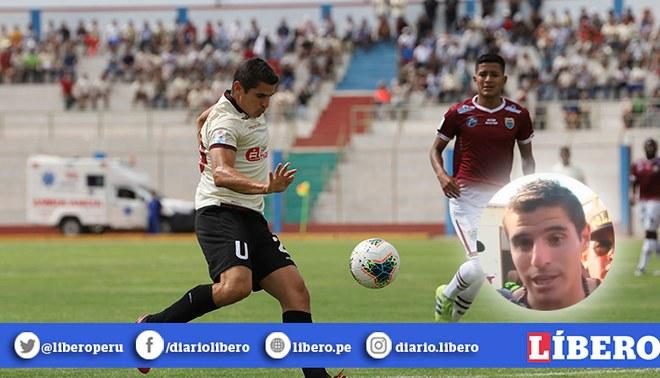 Aldo Corzo Universitario Carlos Stein | FOTO: Prensa Universitario
