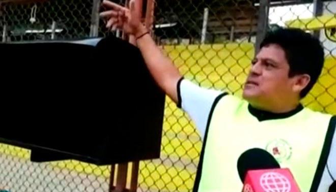 """Ni siquiera la Liga 1 Movistar cuenta con esta """"tecnología""""."""