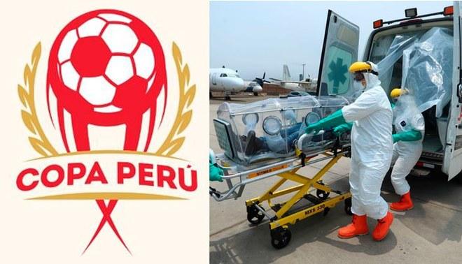El primer torneo de fútbol en toda Latinoamérica en cancelarse por el coronavirus fue la Copa perú.