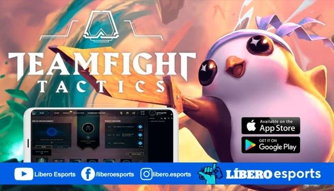 Este 19 de marzo se lanzará de manera oficial Teamfight Tactics para móviles. | Fuente: Composición.