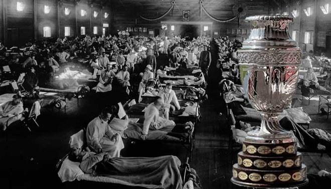 Copa América 1918 fue aplazada para 1918 por la Gripe Española (Fuente: Conmebol)