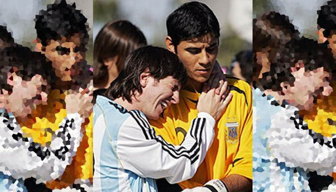 Lionel Messi fue campeón olímpico con Argentina en 2008.