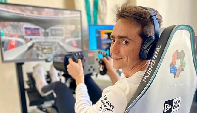 Esteban Gutiérrez realiza streamings en su cuenta de Twitch | Fuente: Instagram