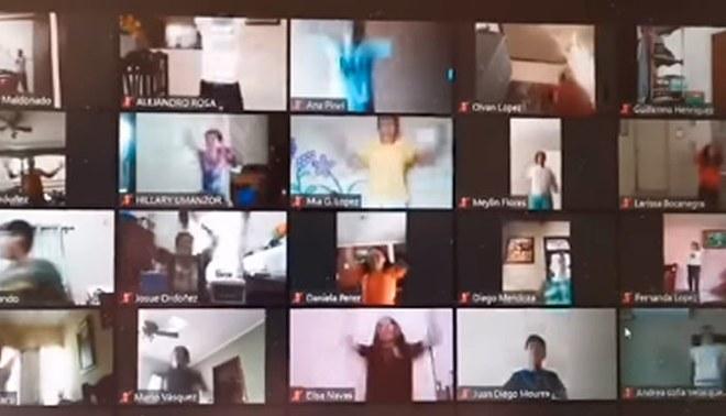 Facebook viral alumnos reciben clases virtuales de educacion ...