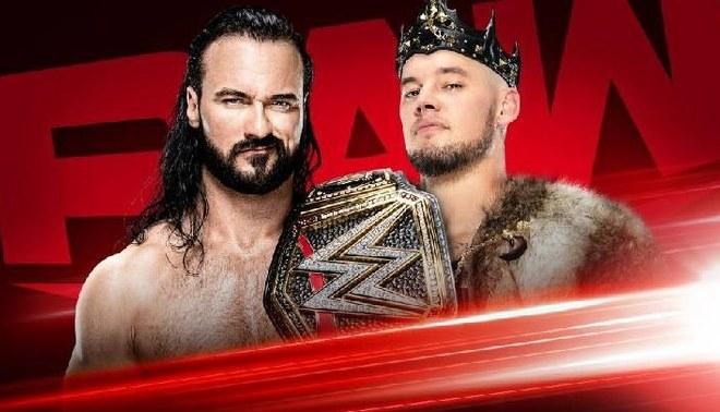 Drew McIntyre se enfrenta a  King Corbin por el título de la WWE | FOTO: WWE