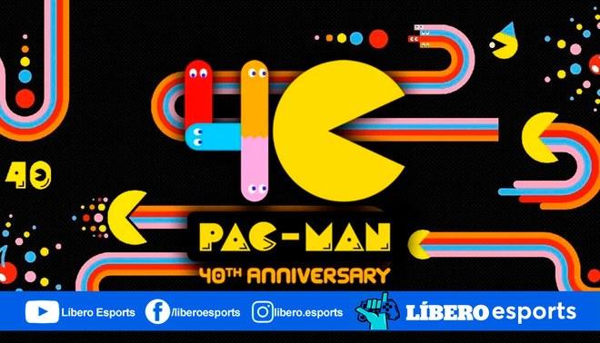 Pac-Man, la super estrella de los videojuegos, celebró así sus 40 años   Foto: Bandai Namco