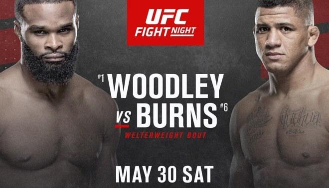 Woodley vs Burns: UFC anunció su cartelera completa para evento del 30 de mayo. Créditos: UFC.
