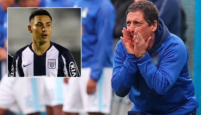 """Mario Salas sobre la salida de Jean Deza: """"Estoy de acuerdo con las decisiones del club"""". Créditos: GLR."""