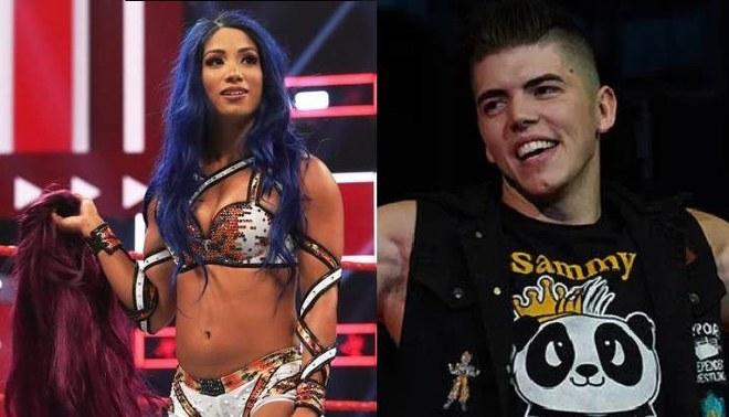 Luchador de AEW fue sancionado por polémico audio contra Sasha Banks | FOTO: WWE/ AEW