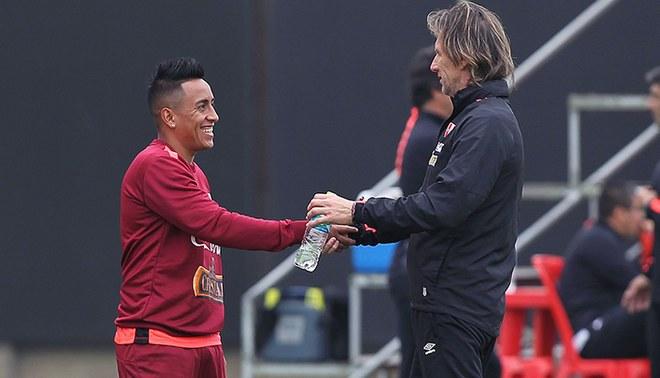 Selección peruana: Ricardo Gareca estará con Christian Cueva este martes en la Videna.