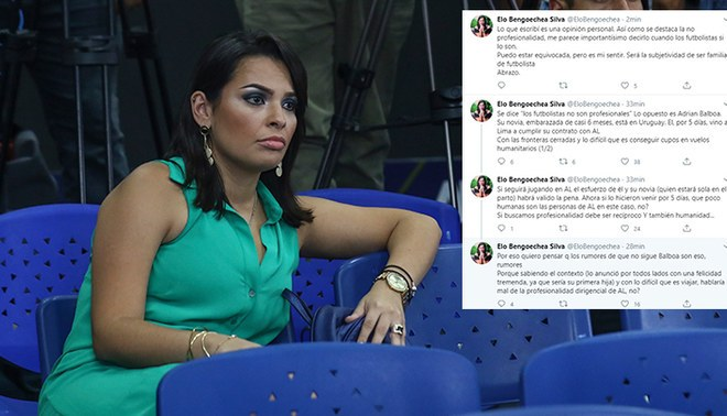 Elo Bengoechea no comparte la forma como Adrián Balboa dejó Alianza Lima.