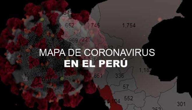 Mapa del coronavirus en Perú: casos por regiones - HOY 3 de julio
