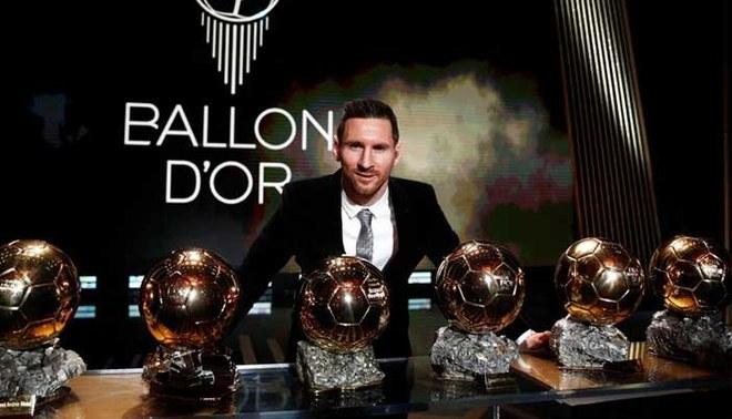 Lionel Messi fue el último ganador del Balón de Oro (France Football)