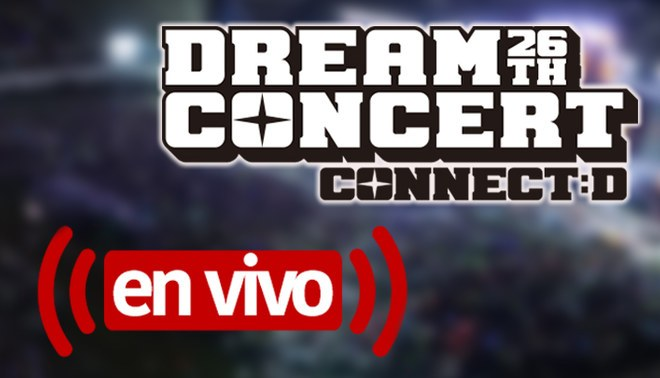 Sigue en vivo el Dream Concert 2020.