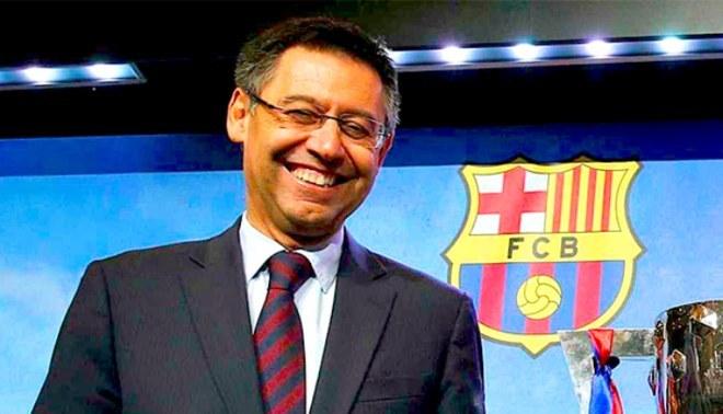 Josep Maria Bartomeu es presidente del Barcelona desde el 2014. Foto: EFE