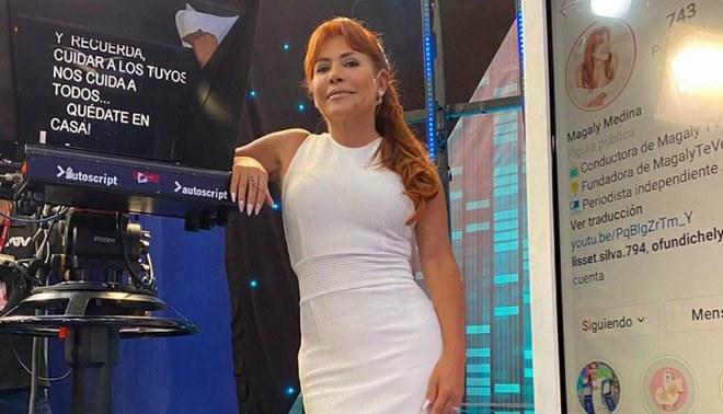 Magaly Medina confirma su regreso a la televisión desde mañana