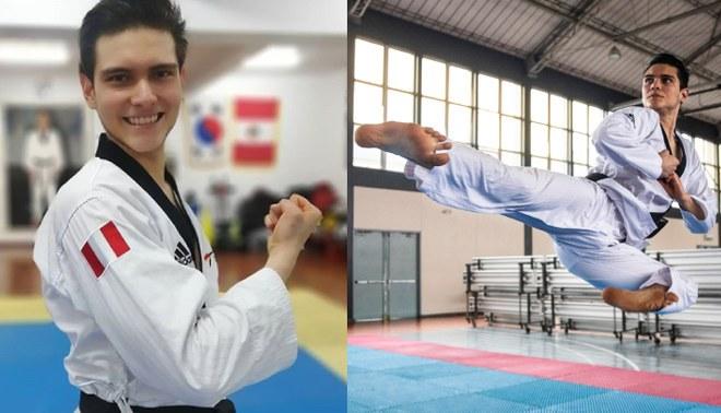 Hugo del Castillo obtiene medalla de oro en torneo virtual WTPA Poomsae Live