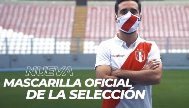 La Federación Peruana de Fútbol lanzó a la venta las mascarillas oficiales de la selección peruana | Foto: FPF.