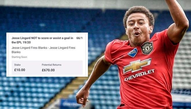 Jesse Lingard hace perder 863 dólares a un aficionado con su gol agónico ante el Leicester City.