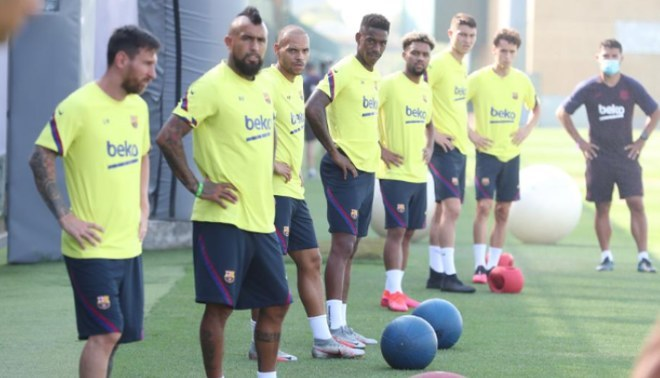 """Barcelona se """"refuerza"""" con cinco jugadores de su filial. Créditos: Barcelona."""
