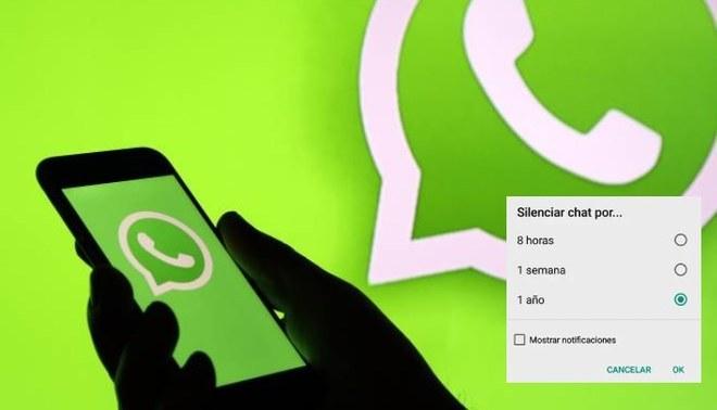 WhatsApp permitirá silenciar conversaciones para siempre