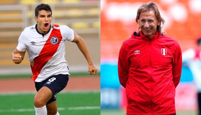Matías Succar, el joven delantero que le gusta a Ricardo Gareca según Juan Carlos Oblitas.