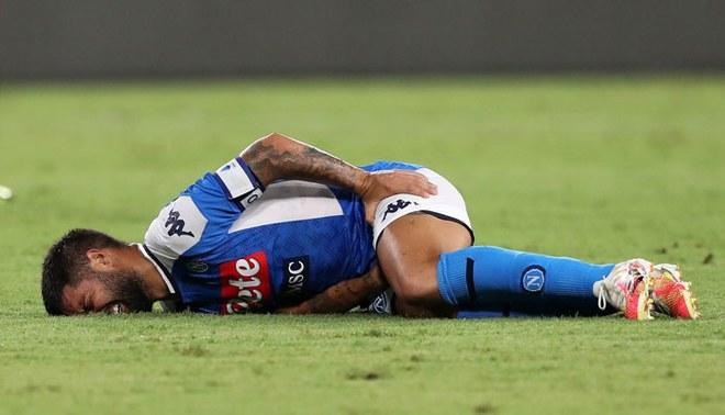 Barcelona vs Napoli: Lorenzo Insigne se lesionó y es duda para la Champions League. Foto: EFE