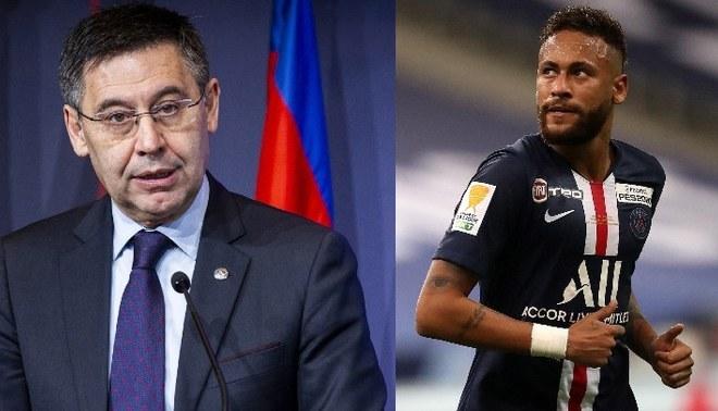 Presidente de Barcelona reconoce que es inviable el fichaje de Neymar