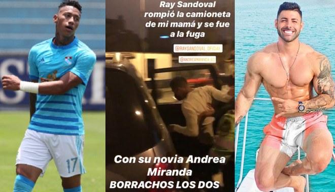 Ray Sandoval recibe fuertes críticas de Sebastián Lizarzaburu