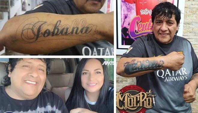 Toño Centella ya no lleva el nombre de su esposa en el brazo.