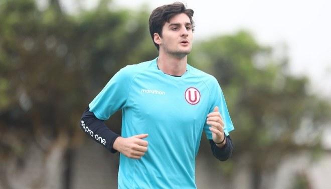 Mateo Said, arquero suizo fue promovido al primer equipo a pedido de Comizzo [FOTO: Universitario]