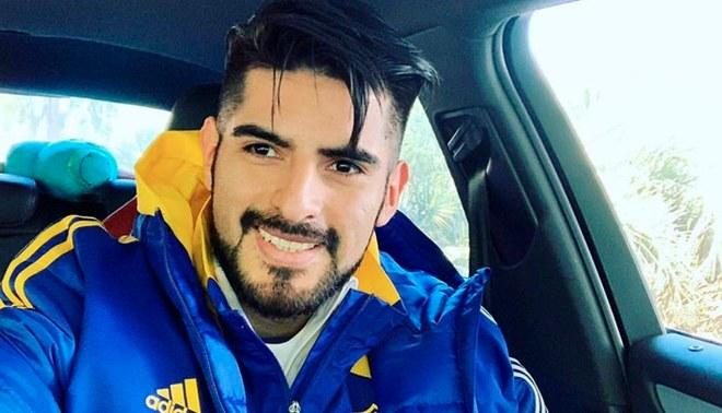 """Zambrano mostró su alegría por volver a entrenar con Boca: """"extrañaba vestir estos colores"""""""