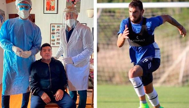 Diego Maradona fue sometido a la prueba de descarte al COVID-19 en Argentina