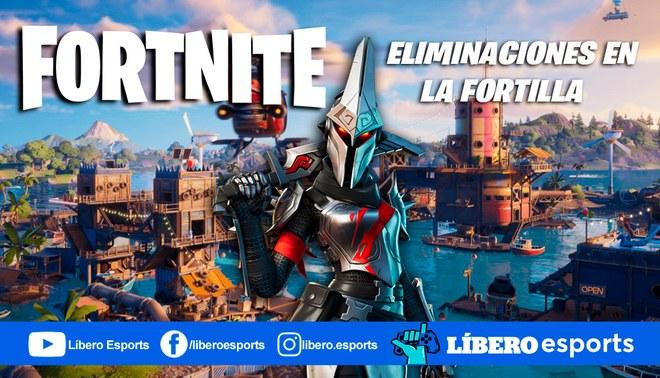 Fortnite: eliminaciones en La Fortilla (semana 9) | Foto: composición